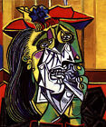 Crying woman Pablo Picasso Oil painting Wall Art Giclee Printed on canvas L424