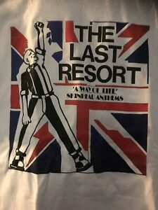 The Last Resort T.shirt Skinhead Oi Bootboy Punk Sm Med Large Xl Xxl Size