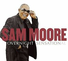 SAM MOORE - Overnight Sensation CD With Springsteen Bon Jovi Preston Sting Carey