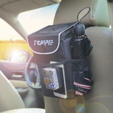 Tchipie Car Trash Can Garbage Bin Vehicle Trash Bag Hanging Auto Trash Contai...