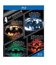 4 Film Favorites Batman Collection Batman  Returns  Forever  Robin Blu-ray Reg B