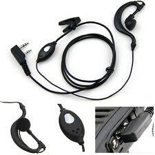 Earhanger Headset  Ear-Hook Earpiece Earphone For Motorola Walkie Talkie Radio