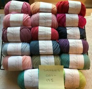 Sublime Baby Cashmere Merino Silk DK Yarn - *51 SHADES* & Knitting Pattern Books
