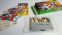 [ CIB ] Bomberman 4 Super Nintendo Famicom JAP Japan SFC SNES Bomber Man