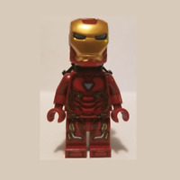 NEW LEGO Marvel Iron Man Mark 50 Armor Minifigure Avengers Infinity War 76107