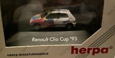Herpa MOTOR SPORT 035873 – RENAULT CLIO CUP'93, h0, 1:87 NUOVO + OVP