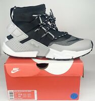 Nike Air Huarache Gripp Men's Running Shoes Size US 11.5 Grey Black AO1730-004