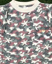 VTG 80s/90s Camel Cigarette Camouflage Pocket Camo Promo SINGLE STITCH T Shirt M