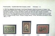 Canada S246 - S248 Mnh