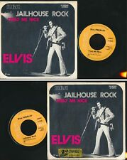 "@ ELVIS PRESLEY 45 TOURS SP 7"" BELGIUM JAILHOUSE ROCK"