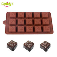 Gift Box Shape Chocolate Mold Silicone Bow-Knot Box Cake Jelly Ice Mould Bakewar