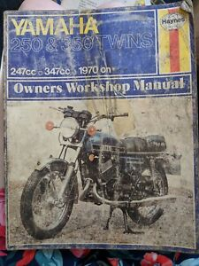 Yamaha 250 / 350 Twins Haynes Owners Workshop Manual