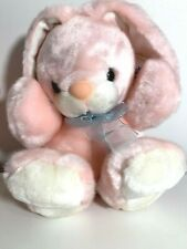 """Wishpets For Easter And Always Pink Bunny 9/"""" Plush Animal"""