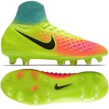 Nike Magista Obra II Fg Bambini Scarpe da Calcio Tacchetti Giallo 844410-708
