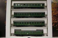 Sachsenmodelle H0 14008  Eilzugwagen-Set  der DB 4-teilig  neuw. !!!   OVP   400