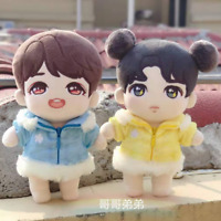 Hand-made Kpop EXO XOXO Park Chanyeol Doll Clothes Cute Blue Coat Gift Be
