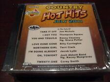 CHARTBUSTER HOT HITS COUNTRY KARAOKE DISC 60468M JULY 2011 CD+G MULTIPLEX