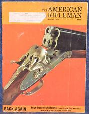 Vintage Magazine American Rifleman, AUGUST 1976 !!! H&R Model 676 REVOLVER !!!