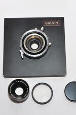 Rodenstock Apo - Ronar 150mm in Synchro Compur Shutter, Hoya UV , Galvin Board