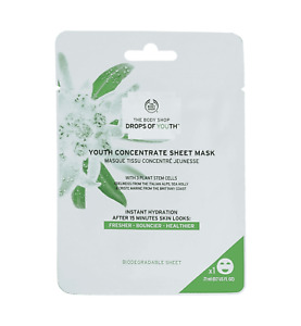 THE BODY SHOP Drops of Youth™ Youth Concentrate Sheet Mask –FOR SMOOTHER SKIN