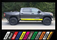 2pcs stickers for Toyota Tundra graphics side stripe decal sticker #8