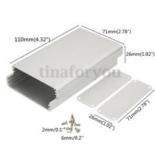 110x71x26mm Silver Aluminum instrument Box Enclosure Case Project Electronic