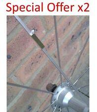 X2 discreto MAGNETE PER BICI BLADE SPOKE Velocità Sensore Garmin, Sigma, Cateye, ecc.