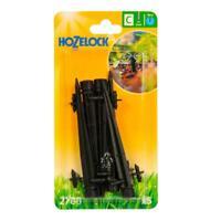 5 x Hozelock 0-40 LPH End of Line Adjustable Mini Sprinkler 4mm on Stake/Spike