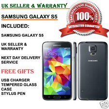 Samsung Galaxy S5 SM-G900F 16 Go 4 G Débloqué Smartphone Anthracite UK Noir Grade C