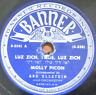 JEWISH YIDDISH 78 RPM- MOLLY PICON  - MESSIAH IN NEW YORK-  BANNER 1950's