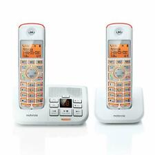 Motorola Big Button Digital Cordless Phones With Answering Machine DECT 6.0 K702