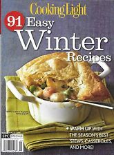 Cooking Light Easy Winter Recipes magazine Best stews Casseroles Meats Seafood