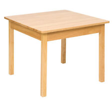 More details for bigjigs toys children's solid wooden table bedroom furniture accessories