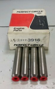 4 New NOS Perfect Circle 217-3916 Engine Valve Guides