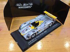 Minichamps Model Car, Diecast Model, Audi R8S Le Mans 24hrs 2000 Racing Car