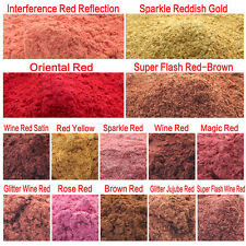 50g Red Color Type Cosmetic Natural Mica for Soap/Bath Bombs/Eyeshadow/Lipsticks