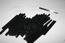 Lot X30 - Lego - Axe noir black 8M - 3707                       OCCASION/USED