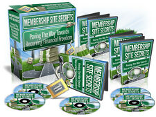 Discover How To Create A Network Of Top Notch Profitable MEMBERSHIP SITES (CD)