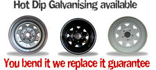 Steel Wheels16x7 inch Rims fit most 4x4 vehicles U BEND IT WE REPLACE IT