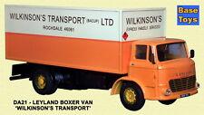 Base Toys DA-21 Leyland Boxer Van Wilkinson De Transporte Escala 1/76th/00 T4 En Caja