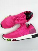 Adidas Boost La Marque Aux 3 Bandes Mens size 11.5 Hot Pink Black Athletic