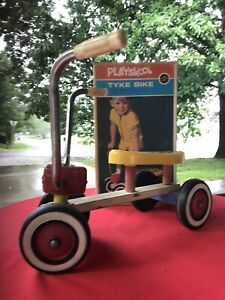 Vintage Playskool Tyke Bike Scooter Preschoolers Model 491 1960s 60s