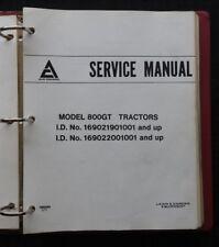 1976-82 DEUTZ ALLIS 800 GT SERIES 808 810 811 816 818 LAWN TRACTOR REPAIR MANUAL