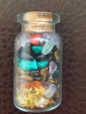 CRYSTAL QUARTZ STONES  + HUAYRURO SEED FENGSHUI LOVE MONEY HEALTH HEALING AMULET