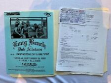 Long Beach Dub Allstars Concert Contract 1999 Pittsburgh