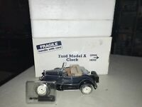 Danbury Mint 1931 Ford Model A Deluxe Roadster Clock, Thermometer & Hygrometer