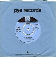 DAVID GARRICK maypole mews*like to get to know you better 1969 UK PYE BEE GEES