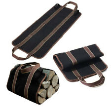 Supersized Canvas Firewood Wood Carrier Log Camping Outdoor Holder Carry Bag Pro
