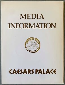 THOMAS HEARNS-ROBERTO DURAN ORIGINAL PRESS KIT PROGRAM (1984)