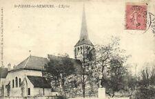 CPA  St-Pierre les-Nemours. - L'Eglise  (170931)